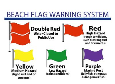 Beach Flag Warning System